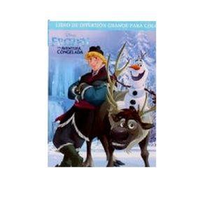 Frozen Spanish Big Fun Book To Color - Amigos